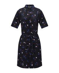 Sessun Blue Kurzes Kleid