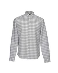 Theory - Gray Shirt for Men - Lyst