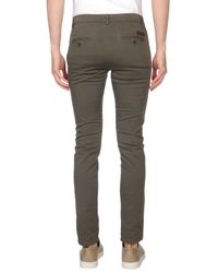 Brian Dales Green Casual Trouser for men