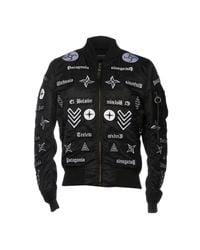 Marcelo Burlon Black Jacket for men