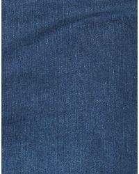 Jupe en jean Dolce & Gabbana en coloris Blue