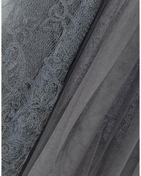 Falda a media pierna Ermanno Scervino de color Gray
