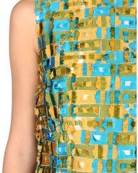 Dolce & Gabbana Blue 3/4 Length Dress