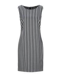 Carla G Black Short Dress