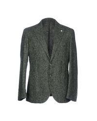 L.b.m. 1911 Green Blazer for men