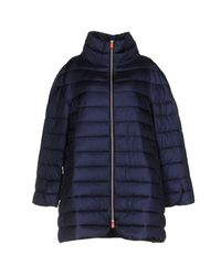 Save The Duck - Blue Jacket - Lyst