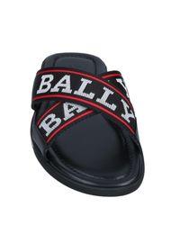 Bally Black Sandals for men