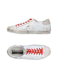 Golden Goose Deluxe Brand White Low-tops & Sneakers for men