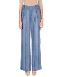 Trussardi Blue Casual Trouser