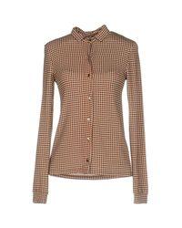 Camisa Siyu de color Brown