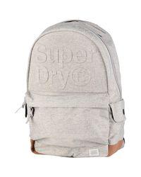 Superdry Gray Backpacks & Bum Bags for men