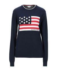 Pullover di U.S. POLO ASSN. in Blue