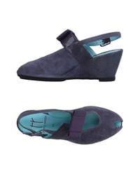 Thierry Rabotin Blue Sandals