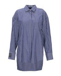 Camicia di MSGM in Blue