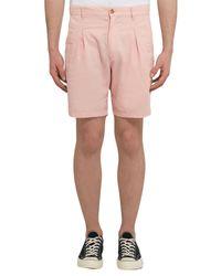 Bermudas Battenwear de hombre de color Pink