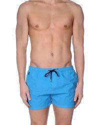 Replay Blue Swim Trunks for men