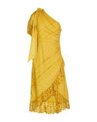 Ulla Johnson Yellow Knee-length Dress