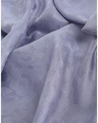Versace Purple Square Scarf