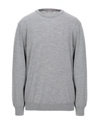 Pullover Andrea Fenzi de hombre de color Gray