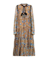 Vestito longuette di Manoush in Multicolor