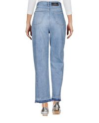 Won Hundred Blue Denim Trousers