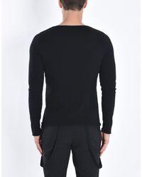 Pierre Darre' Black Sweater for men