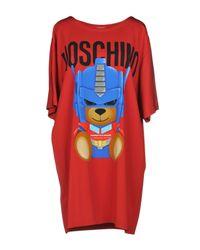 Vestito corto di Moschino in Red