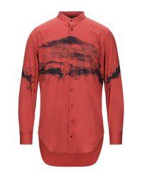 Neil Barrett Hemd in Red für Herren