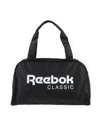 Reebok Black Travel Duffel Bags