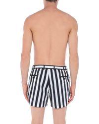 Dolce & Gabbana Black Swim Trunks for men