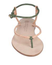 Alberto Fasciani Natural Toe Strap Sandal