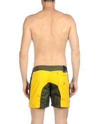 Rrd - Yellow Swimming Trunks for Men - Lyst