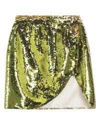 Falda corta Amen de color Green
