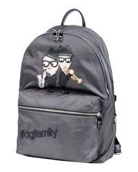 Dolce & Gabbana Gray Backpack for men