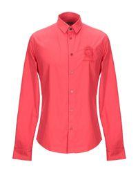 Chemise Versace Jeans pour homme en coloris Red