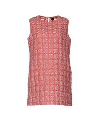 Aspesi Purple Short Dress