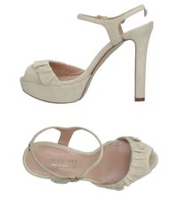 Twin Set White Sandals
