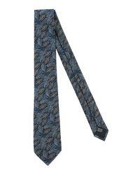 Cravatta di Lanvin in Blue da Uomo