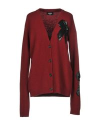 Rochas Red Cardigan