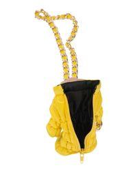 Moschino Yellow Cross-body Bag