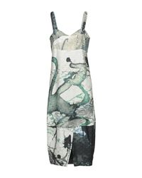 Crea Concept Green Knee-length Dress