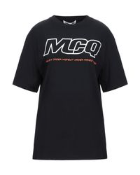 McQ Alexander McQueen Black T-shirt