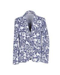 Fradi Blue Blazer for men