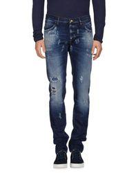 Dolce & Gabbana Blue Denim Trousers for men