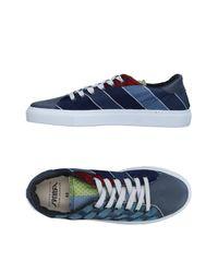 Springa Blue Low-tops & Sneakers for men