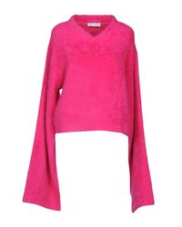 Pullover di WEILI ZHENG in Pink