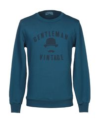 Athletic Vintage Blue Sweatshirt for men