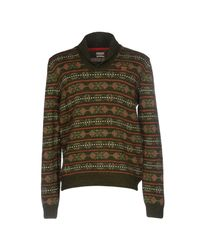 Napapijri - Green Sweater for Men - Lyst