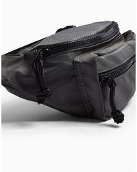 Topman Black Backpacks & Fanny Packs for men
