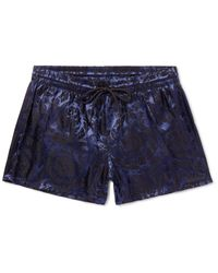 Versace Blue Swimming Trunks for men